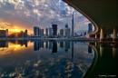 倒影 7张曝光 hdr合成  摄于迪拜