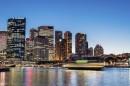 悉尼港的夜晚