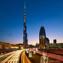 迪拜的早晨