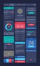 扁平化UI组件