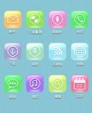 手机APP彩色素材