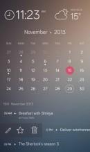 手机日历APP界面