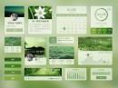 绿色清新音乐APP界面