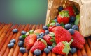 草莓和蓝莓