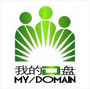 创意绿色D元素logo
