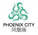 青色凤凰元素logo