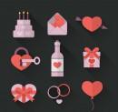 浪漫情人节图标