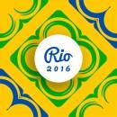 2016里约奥运几何抽象背景图2