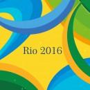 2016里约奥运抽象线条矢量图
