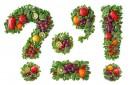 绿色水果标点符号