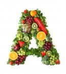 绿色水果英文字母A