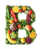 绿色水果英文字母B