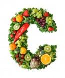 绿色水果英文字母C