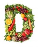 绿色水果英文字母D
