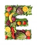 绿色水果英文字母E