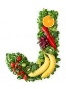 绿色水果英文字母J