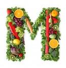 绿色水果英文字母M