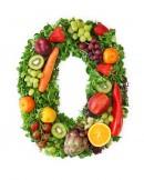 绿色水果英文字母O