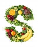 绿色水果英文字母S