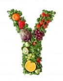 绿色水果英文字母Y