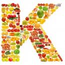 黄色水果英文字母K