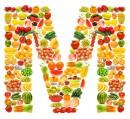 黄色水果英文字母M