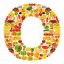 黄色水果英文字母O