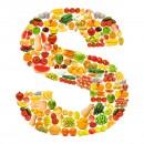 黄色水果英文字母S