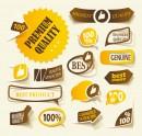 黄色系标签