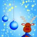 卡通圣诞背景图