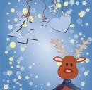 卡通圣诞节背景