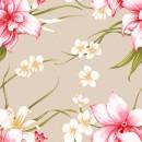 精美花卉背景