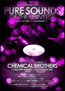 紫红光影音乐海报