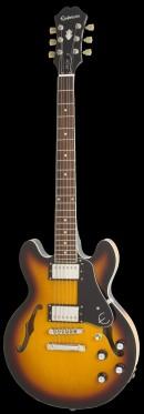 咖啡黄色电吉他