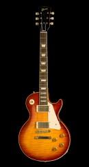橙黄色的电吉他