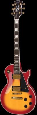 红黄色电吉他