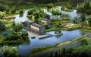 水中园林效果图
