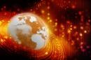 红色色商务地球