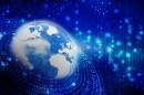 蓝色商务地球信息