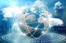 蓝色商务地球数码