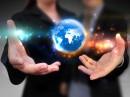 双手间的商务网络科技