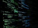 数字科技数据背景