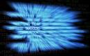 蓝色数字科技背景