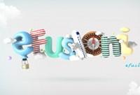 C4D《蒸汽气球字体》的建模及keyshot渲染器渲染讲解