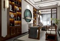 室內渲染《光與影的藝術-書房》室內場景渲染教學
