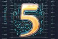 """C4D 機械風格數字表現《機械""""5""""》建模渲染案例"""