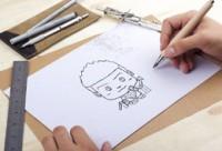 金融類《卡通形象》草稿到正稿的制作解析