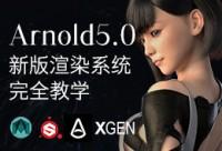 新版Arnold5.0 for maya—渲染系统完全教学【灯光材质应用+典型案例讲解】