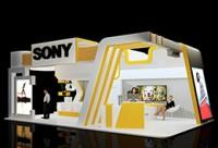 3dmax+vray《黃白小清新展廳》快速建模+渲染案例實操