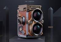 C4D复古照相机建模渲染教学【直播回放】【多边形建模】